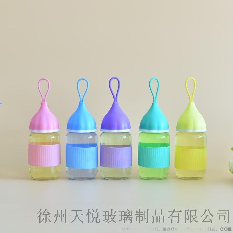 创意小艾玻璃杯广告定制logo礼品促销可爱洋葱头水杯厂家批发