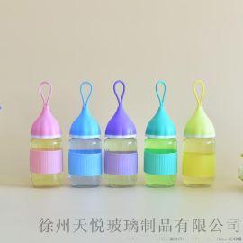 創意小艾玻璃杯廣告定制logo禮品促銷可愛洋蔥頭水杯廠家批發
