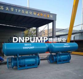 移动式轴流泵-大流量潜水泵安装