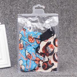 PVC服饰包装 服装包装 服装袋挂钩袋