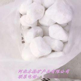 本格厂家直销白色机制鹅卵石、滤料鹅卵石、园艺鹅卵石