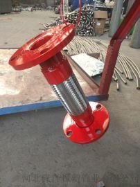 带快速接头金属软管 减震金属软管 金属软管波纹管