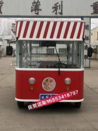 德州餐车生产厂家 多功能小吃车 欧式街景餐车 房车