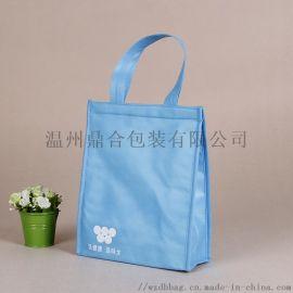 专业生产定制环保覆膜无纺布袋 保鲜保冷保温手提袋
