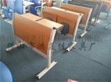 廠家定製學生階梯教室學術報告廳桌椅一體連排課桌椅