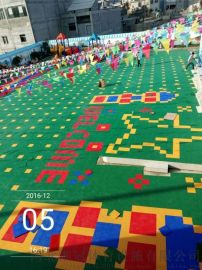 懸浮地板拼裝地板快速安裝懸浮式運動地板廠家