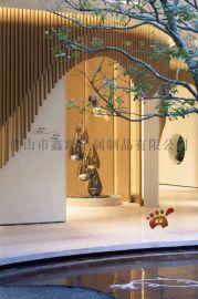 定制不锈钢水滴雕塑抽象艺术雕塑小品园林景观装饰摆件