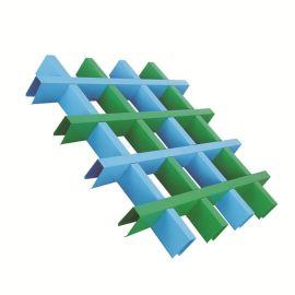 廠家直銷鋁格柵鋁格子超市規格30底50高定制加工