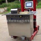 厂家直供 不锈钢单路香肠扎线设备 舒克机械半自动扎线机