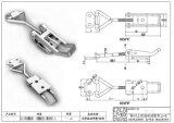 厂家供应QF-006食品设备调节搭扣、锁扣 螺杆快开不锈钢搭扣