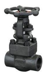 精嘉牌 承插焊闸阀Z11Y 锻钢焊接高压闸阀DN40