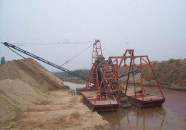 挖沙船 绞吸式挖沙船