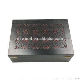 DS木制镂空雪茄盒 东尚包装 东尚木业 雪茄盒制造