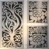 佛山門花廠家加工  高端設計制造咖啡色不鏽鋼門花