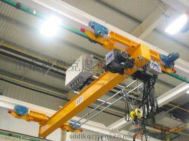 山东德鲁克厂家直销 金斗山牌LX型4t 电动单梁悬挂起重机 桥式起重机