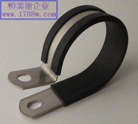 304不锈钢卡箍铁镀锌管夹