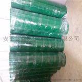 pvc浸塑电焊网1mm丝径12mm孔1米*10米