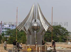 广场景观不锈钢雕塑/东莞不锈钢雕塑生产厂家HHG001