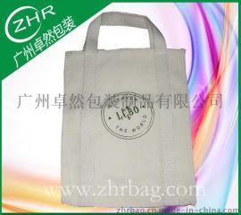 手提车到底帆布袋 12安全棉帆布袋 白色帆布礼品袋
