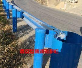 西安双波镀锌波形护栏 高陵高速公路护栏板 西安交通安全防撞护栏厂