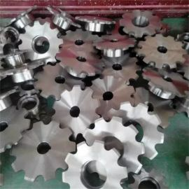 山东生产厂家供应双节距不锈钢链轮 订做非标304 201链轮