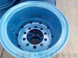 廠家直銷工程車用鑄造鋼圈、非公路自卸車鋼圈、合金鋼圈型號1200-20等