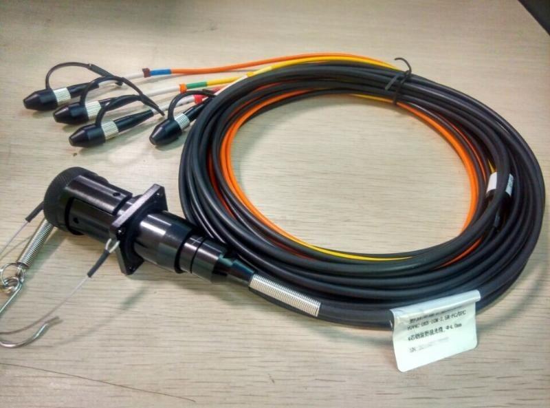 盈极光电4芯车壁  光缆尾纤   光缆