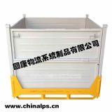 汕頭產地貨源可摺疊式金屬週轉箱堅固耐用倉儲堆垛合理設計生產