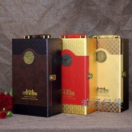 双支礼盒厂家 双支酒盒生产厂家 皮革酒盒生产厂家