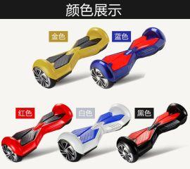 8寸电动扭扭车 跑马灯平衡车 双轮扭扭车 变形金刚款平衡车 直销