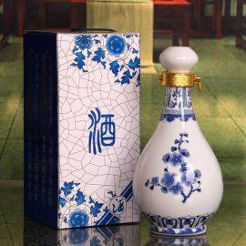 廊坊1斤2斤3斤5斤陶瓷酒瓶批发价格