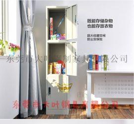 扎实/惠州铁皮工衣柜-灰白色四门员工铁皮工衣柜图片-定做铁皮柜生产厂家