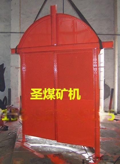 鋼質防火柵欄門