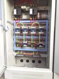 消防泵控制箱星三角启动一用一备22KW挂壁式柜体