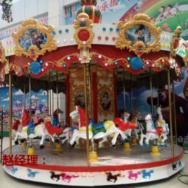 欧式转马供应商 旋转木马多少钱 儿童游乐设施