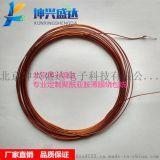 聚酰亚胺电线 1/0.4mm镀银铜导体 0.73mm外径 聚酰亚胺薄膜绕包线