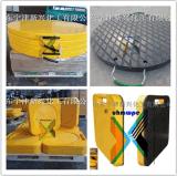 定制供应工程机械用高分子支腿垫板