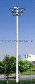 扬州弘旭生产12米球场广场高杆灯led投光灯