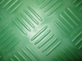 地面  柳叶防滑橡胶板厚度与规格