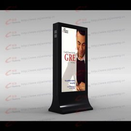 不锈钢板滚动灯箱换画系统 LED广告灯箱