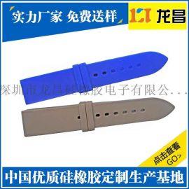 橡胶表带华强北制造厂家_OEM贴牌硅胶手表手表带排名