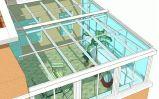 广州市玻璃阳光房设计安装定做