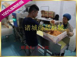鸡味块上粉机、鱼片浸浆机多少钱、全自动鸡排裹面粉机