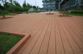 梅州塑木地板,广州木塑花箱,白云塑木实心地板