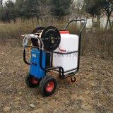 廠家直銷60L電動打藥機牽引式噴霧器養殖場消毒機