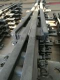 50鋼軌9號道岔合金鋼組合轍叉