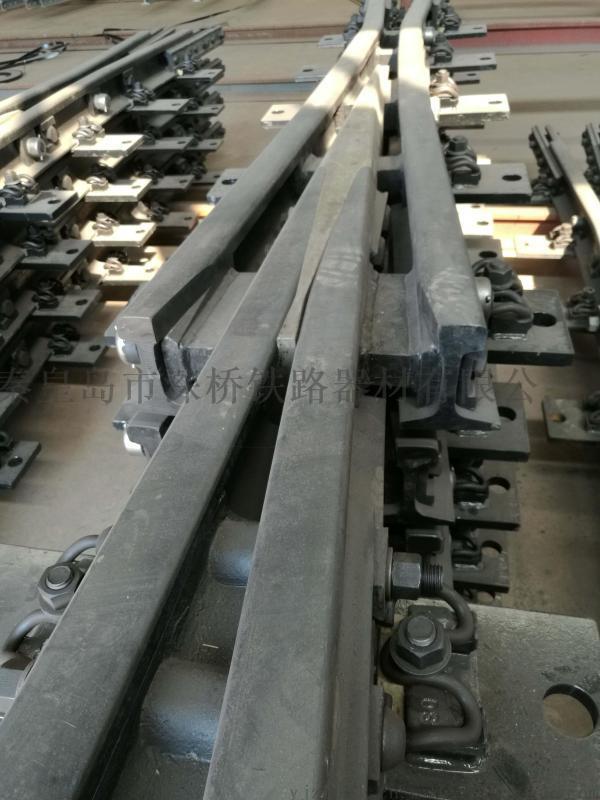 50钢轨9号道岔合金钢组合辙叉