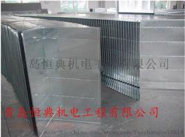 镀锌板风管安装-青岛厨房排烟管道-青岛恒典机电工程