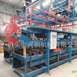 河北兴和供应夹芯多功能成型980复合板机
