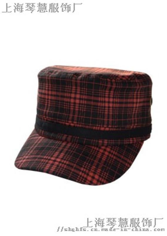 軍帽平頂帽子上海實體工廠